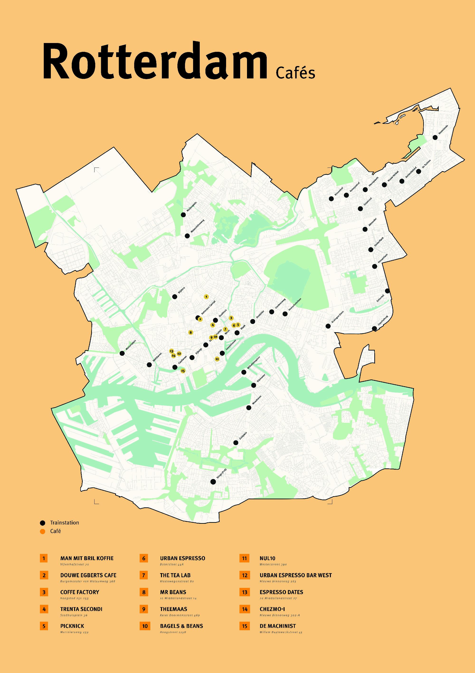 City Map Rotterdam – braunb.art | visuelle & verbale kommunikation